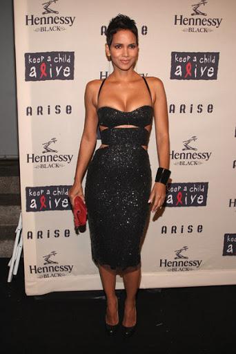 Halle Berry Black Dresses